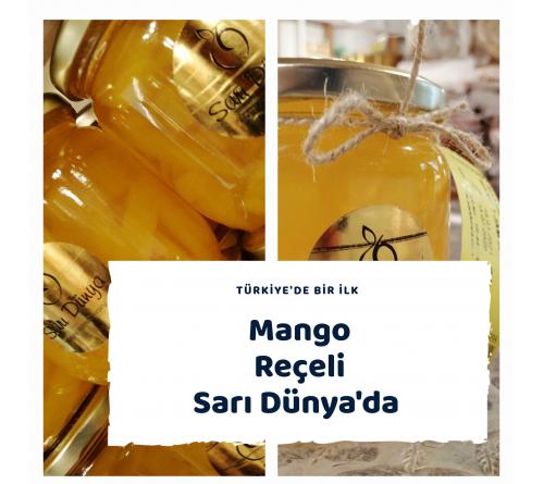 Mango Reçeli Türkiye'de Bir İlk Cam Şişe 400 mi
